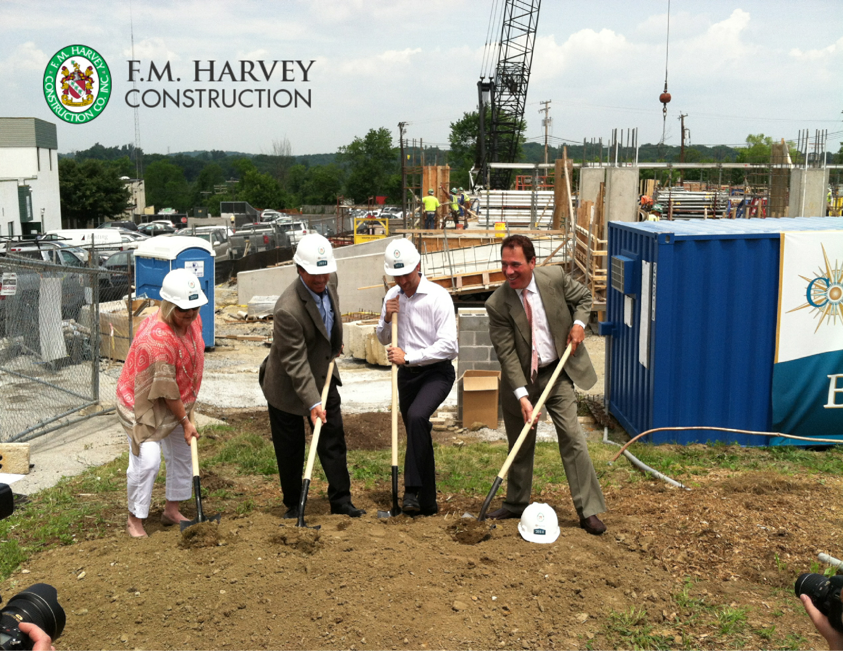 Compass Pointe HQ Construction Begins
