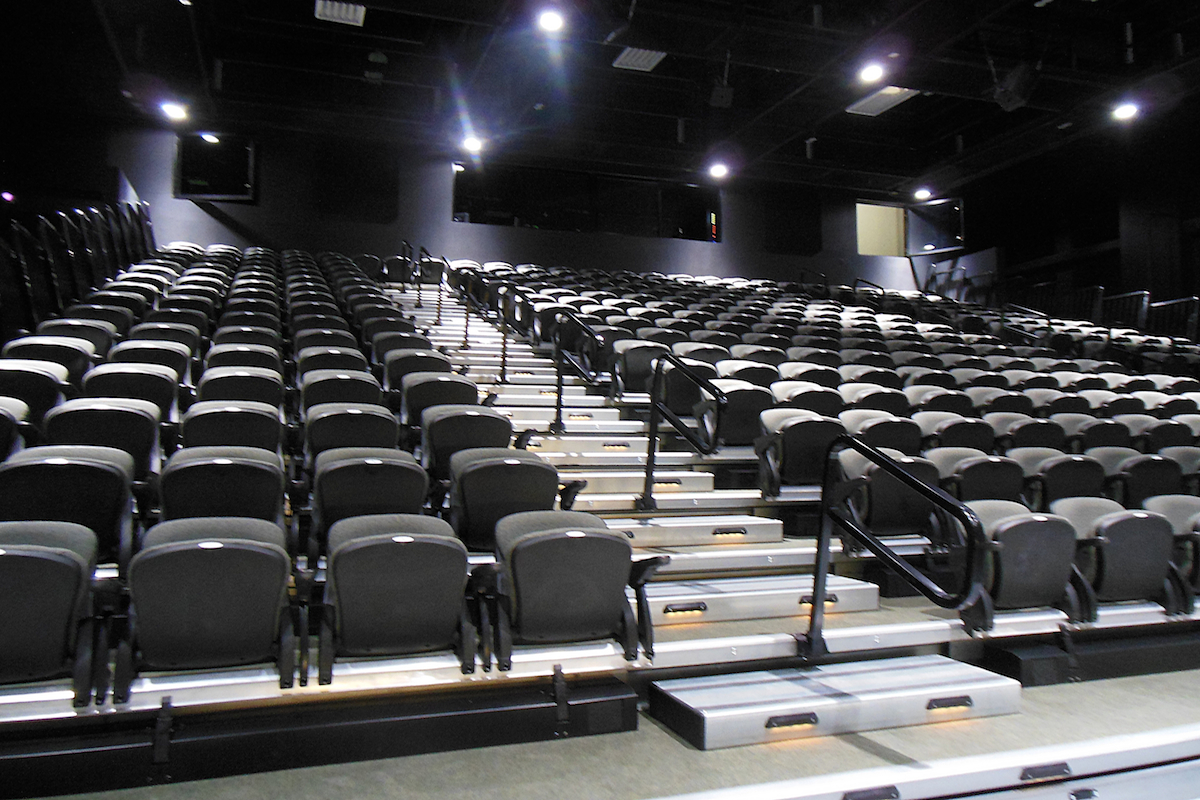 F.M. Harvey Completes Flex Theater for The Jemicy School